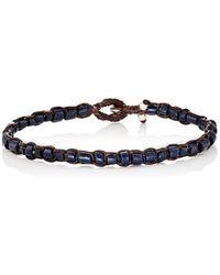 Caputo & Co. - Recycled Glass Beaded Bracelet - Lyst