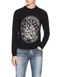 Christopher Kane - saint Christopher Wool Sweater - Lyst