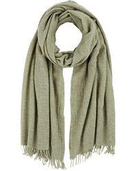 Barneys New York - Wool Scarf - Lyst