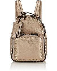 Valentino - Rockstud Mini Leather Backpack - Lyst