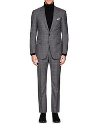 Cifonelli - Montecarlo Plaid Wool Two-button Suit - Lyst