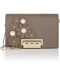 Zac Zac Posen - Eartha Leather Card Case - Lyst