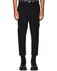 OAMC - Stretch-wool Ankle-zip Trousers - Lyst