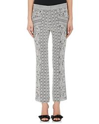 J. Mendel - Lace Flared Trousers - Lyst