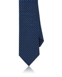 Barneys New York - Geometric Silk Faille Necktie - Lyst