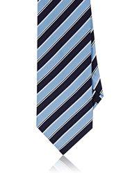 Barneys New York - Repp Stripe Silk Necktie - Lyst