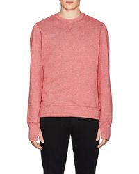Orlebar Brown - Morley Mélange Cotton Sweatshirt - Lyst