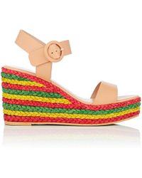 Barneys New York - Platform Wedge Sandals Size 7 - Lyst