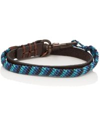 Caputo & Co. - Knotted Double-wrap Bracelet - Lyst