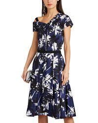 Jason Wu - Palm Tree-print Cotton A-line Skirt - Lyst
