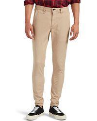 Rag & Bone Fit 1 Standard Issue Stretch-cotton Chinos - Natural