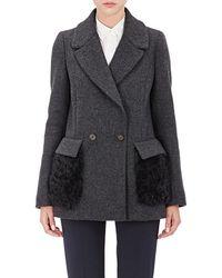 Barneys New York - Fur - Lyst