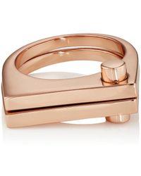 Miansai   Modern Flat Ring   Lyst