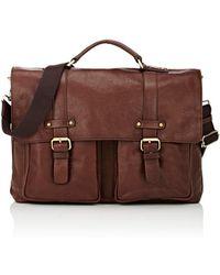 Barneys New York - Messenger Briefcase - Lyst
