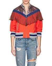 Kolor - Mixed-media Zip-front Jacket - Lyst