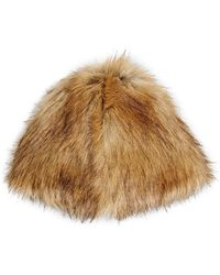 Hat Attack - Faux - Lyst