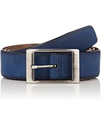 Barneys New York - Leather Belt - Lyst