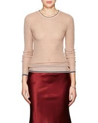 Giada Forte - Stripe-detailed Metallic Jumper - Lyst