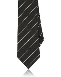 Ralph Lauren Black Label | Men's Fine-striped Peau De Soie Necktie | Lyst