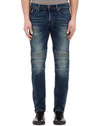 Ralph Lauren Black Label Piston Moto Jeans Size Na