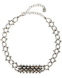DANNIJO - Hutton Choker Necklace - Lyst