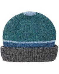 Inis Meáin - Striped Wool Hat - Lyst