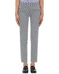 Harvey Faircloth | Checked Twill Pants | Lyst