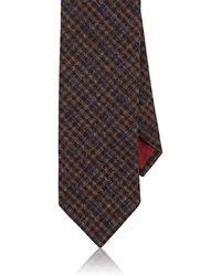 Luciano Barbera - Plaid Woven Cashmere Necktie - Lyst