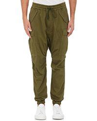 NLST - Cotton Cargo Pants - Lyst
