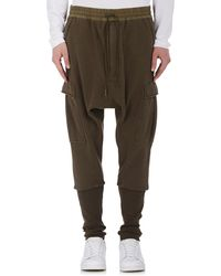 NLST - Cotton French Terry Cargo Sweatpants - Lyst