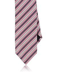 Massimo Bizzocchi - Striped Silk Necktie - Lyst