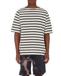 Acne Studios - Nimes Striped Cotton Shirt - Lyst