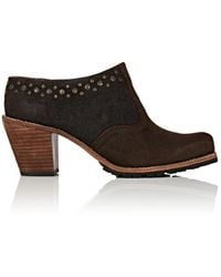 Woolrich - Kiva Leather & Suede Mules - Lyst