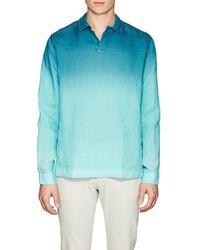 Orlebar Brown - Ridley Ii Linen Shirt - Lyst