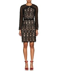Barneys New York - Floral Lace Dress - Lyst
