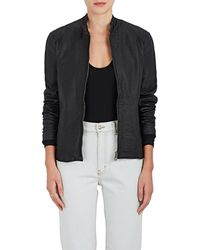 ATM - Leather Moto Jacket - Lyst