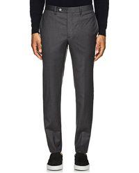 Officine Generale - Virgin Wool Tailored Trousers - Lyst