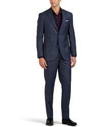 Piattelli - Plaid Wool Two-button Suit - Lyst