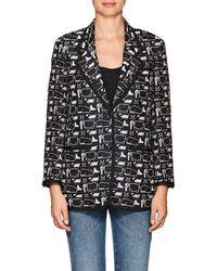 Thom Browne - Whale- & Dog-pattern Silk - Lyst