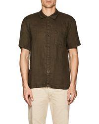 Blank NYC - Slub Linen Shirt - Lyst