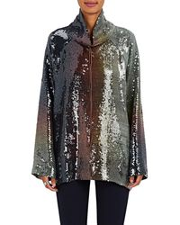 By. Bonnie Young - Sequined Ombré Pullover Top - Lyst