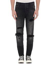 En Noir | Thermal Repair Skinny Jeans | Lyst