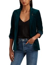 Zadig & Voltaire Volly Cotton Velour Blazer