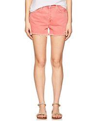 J Brand - Gracie Denim High-rise Shorts - Lyst