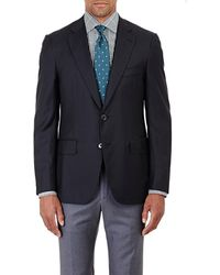 Isaia - Gregory Wool Two-button Suit - Lyst