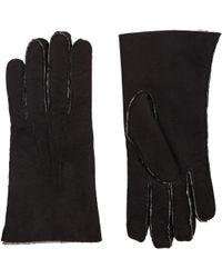 Barneys New York - Shearling-lined Gloves - Lyst