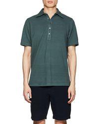 Piattelli - Cotton Piqué Polo Shirt - Lyst
