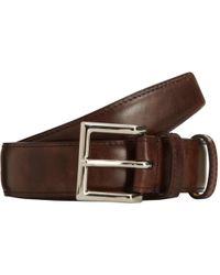 John Lobb - Museum Leather Belt - Lyst