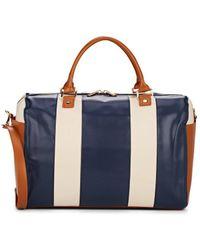 Barneys New York - Colorblocked Weekender Duffle Bag - Lyst