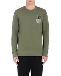Barneys New York - Military-patch Cotton - Lyst